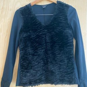 Club Monaco Furry Top, XS